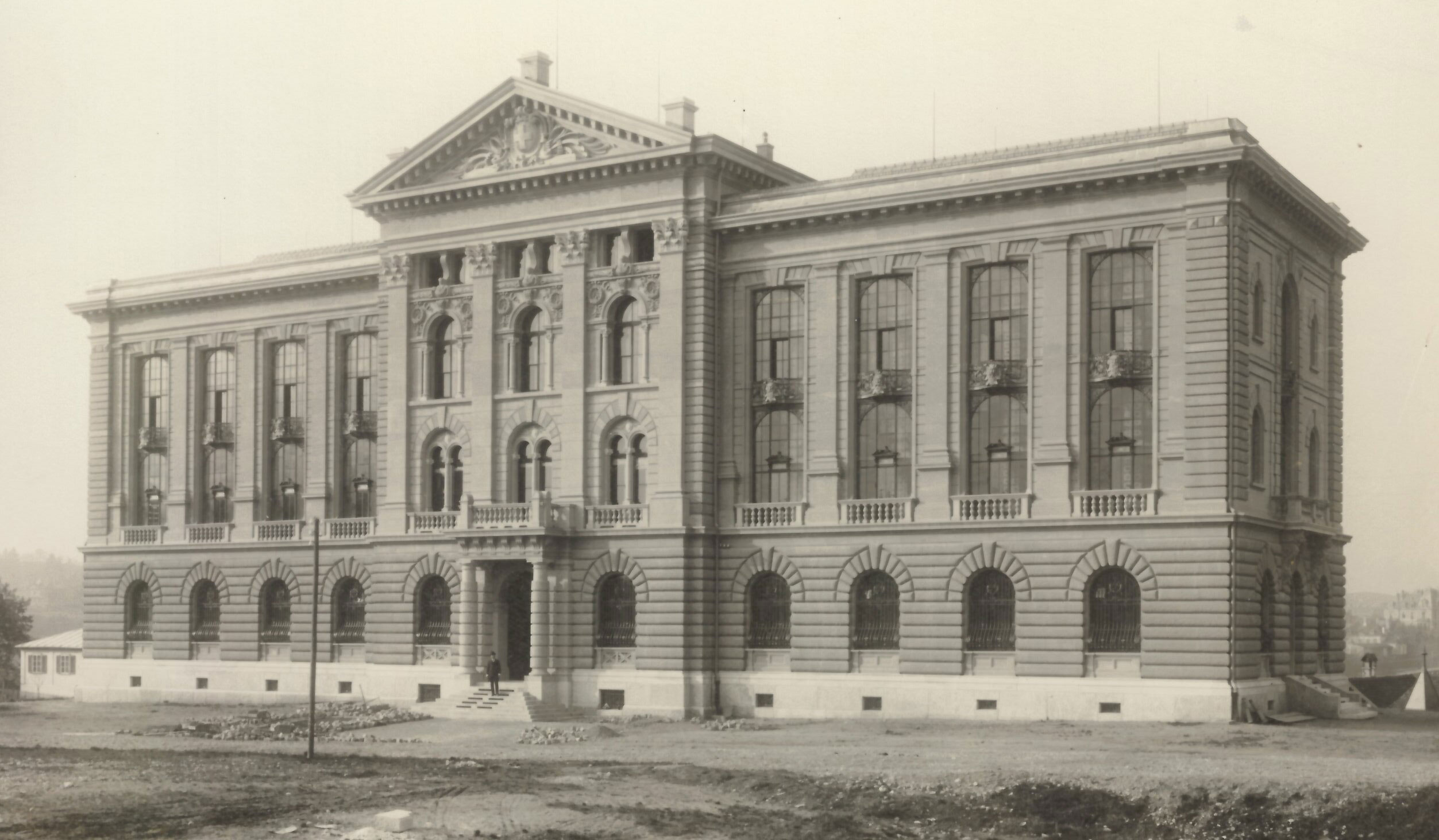 Federal Archives and National Library building of 1899